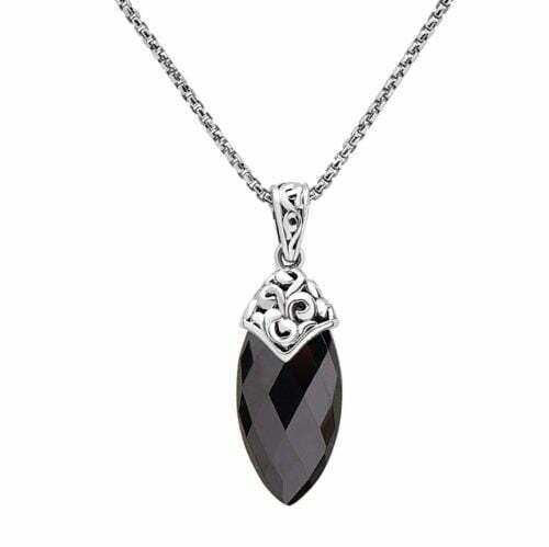 Skye hematite pendant roberts fine jewelers roberts fine jewelers skye hematite pendant necklace aloadofball Images