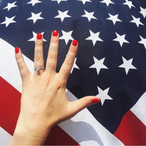 4th of July Engagement Ring