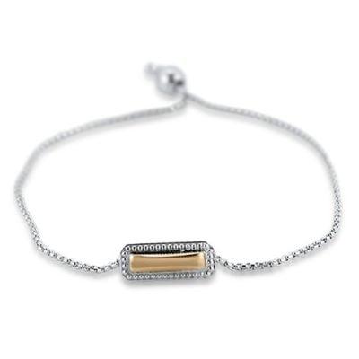Firefly Two Tone Bolo Bracelet