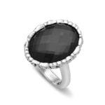 Skye Hematite Ring