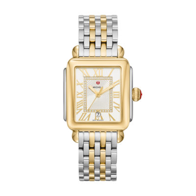 Deco Madison Two Toned Diamond Dial Watch