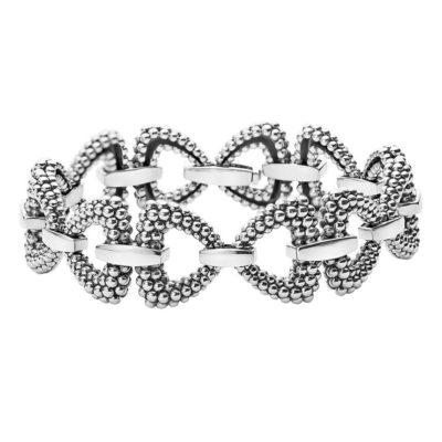 Derby Caviar Link Bracelet