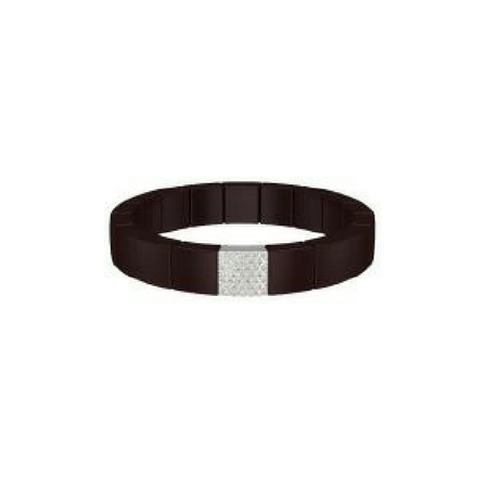 One Row Domino Bracelet by Roberto Demeglio