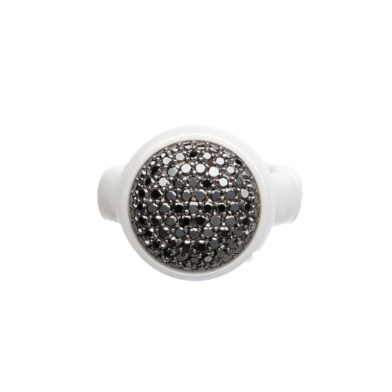 One Row Dama Ring by Roberto Demeglio