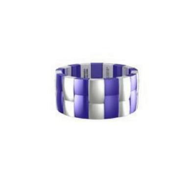 Two Row Aura Bracelet by Roberto Demeglio