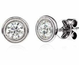 Beny Sofer Diamond Stud Earrings