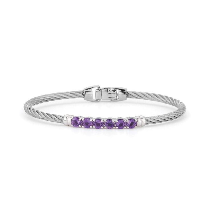 ALOR Burano Citrine Bangle Bracelet 04-32-b010-12