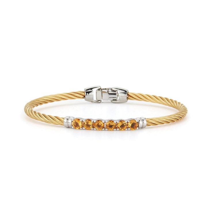 ALOR Burano Citrine Bangle Bracelet 04-37-b006-12