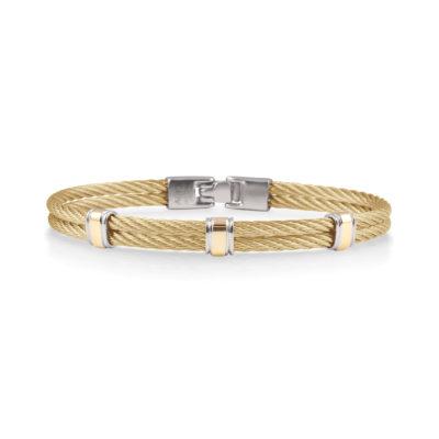 ALOR His & Her Gentlemen's Bangle Bracelet